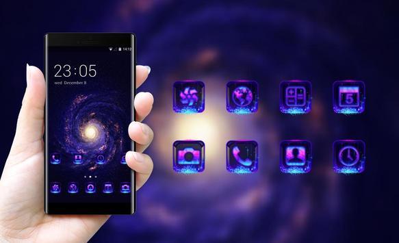 Space galaxy theme mc42 wallpaper stars milky way screenshot 3