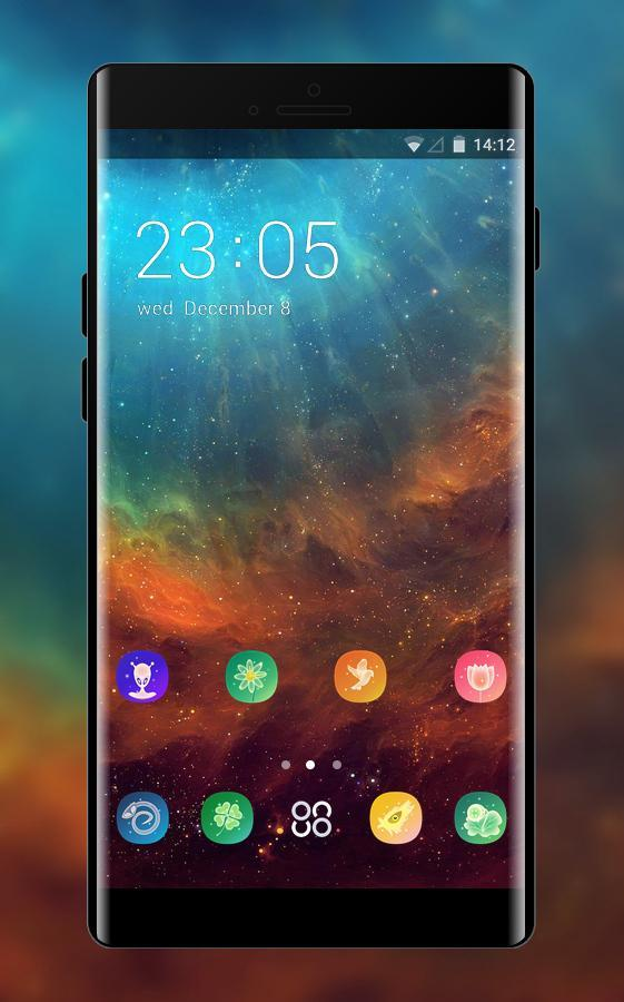 Space galaxy theme for Vivo Y69 for Android - APK Download