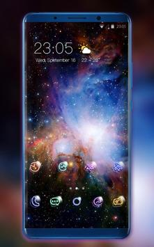 Theme for Samsung Galaxy S7 Space wallpaper poster
