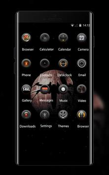 Space galaxy theme ax06 rogue one dark starwars apk screenshot