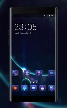 Space galaxy theme ae69 of mystery stars and poster