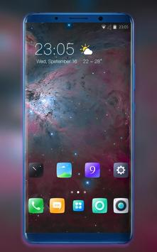 Theme for Vivo V11 Space galaxy ios max wallpaper for Android - APK