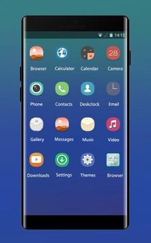 Space galaxy theme blue sea ocean dive scuba apk screenshot