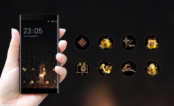 sparkle stars night theme screenshot 3
