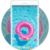 Theme for swimming pool wallpaper icon