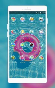 Theme for swimming pool wallpaper screenshot 1