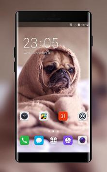 Theme for puppy pet oppo r17 wallpaper poster