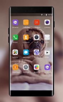 Theme for puppy pet oppo r17 wallpaper screenshot 1