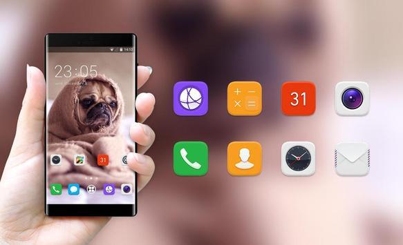 Theme for puppy pet oppo r17 wallpaper screenshot 3