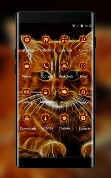 Kitty theme 3D Cat animal Live Wallpaper screenshot 1