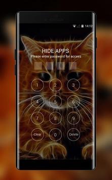 Kitty theme 3D Cat animal Live Wallpaper screenshot 2