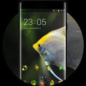 underwater theme fish swim live wallpaper icon