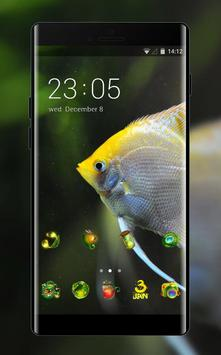 underwater theme fish swim live wallpaper poster