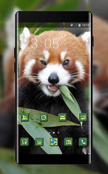 Pet animal theme wallpaper fox fire grass eat poster
