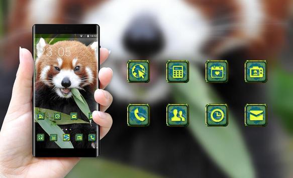 Pet animal theme wallpaper fox fire grass eat screenshot 3