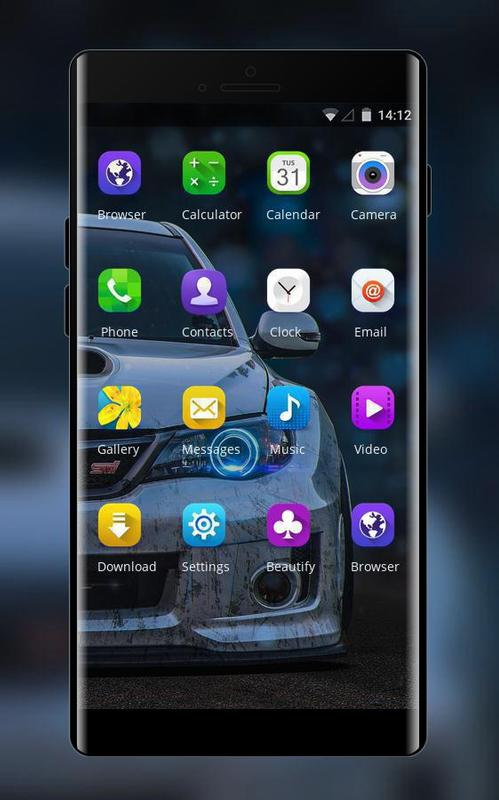 Theme For Samsung Galaxy J7 Cool Car Wallpaper Para Android Apk Baixar