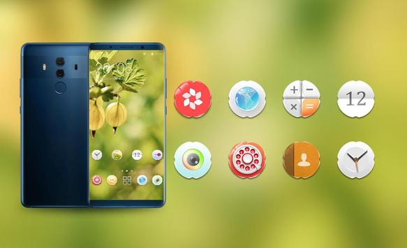 Theme for fall fresh fruit wallpaper screenshot 3