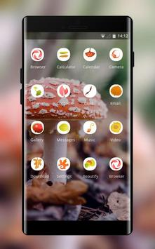 Theme for plant mushroom bright wallpaper screenshot 1