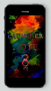 Launcher and Theme for note 8 apk screenshot