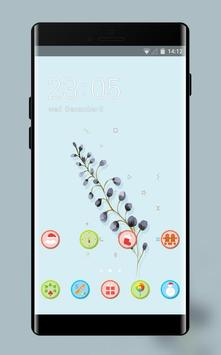 Purple Lavender Theme for P8: Colorful Icons HD poster