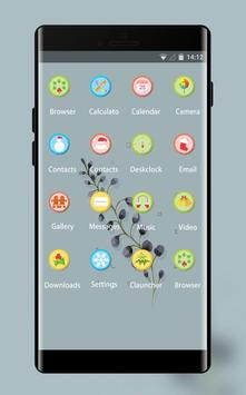 Purple Lavender Theme for P8: Colorful Icons HD screenshot 1