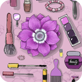 Stylish girl theme with Aesthetic Purple fashion
