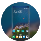 Theme for redmi 6A nature island forest wallpaper icon