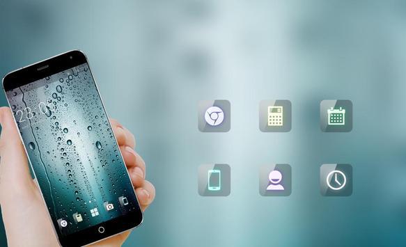 Water Drop HD Wallpaper Theme for Gaxlxy A7 screenshot 3
