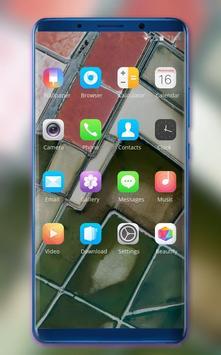 Theme for Pixel 3 area field wallpaper screenshot 1