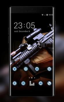 War weapon theme assault carbine m4 gun wallpaper poster