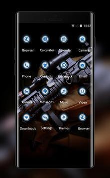 War weapon theme assault carbine m4 gun wallpaper screenshot 1