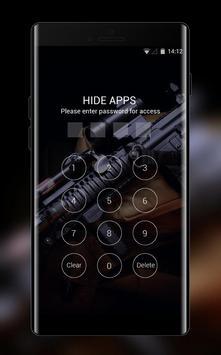 War weapon theme assault carbine m4 gun wallpaper screenshot 2