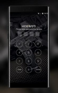 War theme wallpaper automatic black vest defense screenshot 2