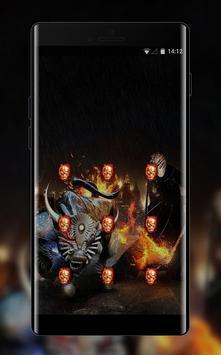 War theme weapon skul demon bone screenshot 1