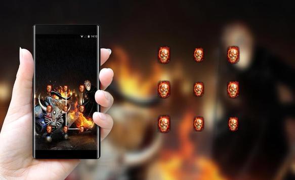 War theme weapon skul demon bone screenshot 2