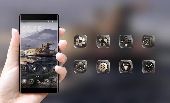 Theme for world of tank timer war screenshot 3
