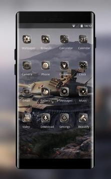 Theme for world of tank timer war screenshot 1