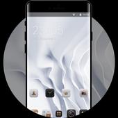 EMUI White Luxury Theme for Huawei icon