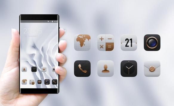 EMUI White Luxury Theme for Huawei screenshot 3