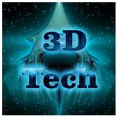 3D Tech Theme icon