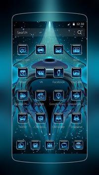 3D Tech Theme apk screenshot