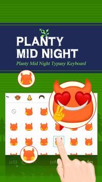 Planty Mid Night Theme apk screenshot