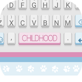 Childhood Theme&Emoji Keyboard icon