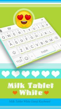 Milk Tablet White poster