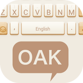 Oak Theme&Emoji Keyboard icon