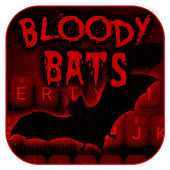 Bloody Bats Theme&Emoji Keyboard icon