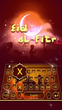 Eid al-Fitr Theme&Emoji Keyboard poster