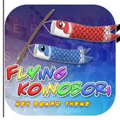 Flying Koinobori Theme&Emoji Keyboard icon