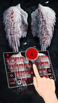 Angel Swings Theme&Emoji Keyboard poster