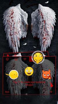 Angel Swings Theme&Emoji Keyboard screenshot 2